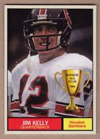 Jim Kelly '84 Houston Gamblers USFL Monarch Corona Rookie All Star #16