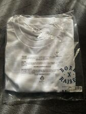 BORN X RAISED MODELO ROCKER T-SHIRT WHITE SIZE XL