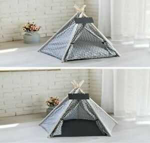 Cat Tent - Dog Tent Portable Pet Canvas Tent and House Free World Wide shipping