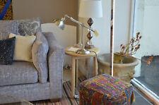 Retro Side Table Round Top 3 Legs Oak Scandinavian Style Bargain