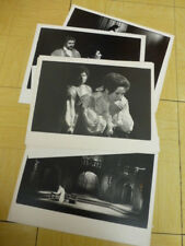 "LOT INTERRESSANT de 9 PHOTOS en NOIR & BLANC OPERA MOZART "" TITUS "" 1981"