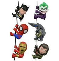 Scalers Set Figures Iron Man Joker Spider-Man Knifehead Batman Cornelius 10
