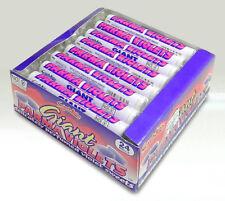 24 x Swizzels Giant Parma Violets Sweet Rolls - Retail Case