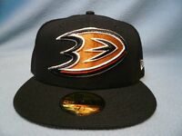 New Era 59fifty Anaheim Ducks Solid BRAND NEW Fitted cap hat NHL Hockey Mighty