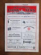 ILLUSTRATED LONDON NEWS 1960 Princess Margaret honeymoon