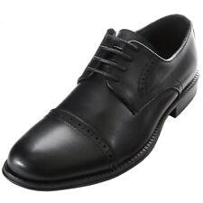 Alpine Swiss Arve Mens Genuine Leather Oxford Dress Shoes Lace Up Brogue Cap Toe