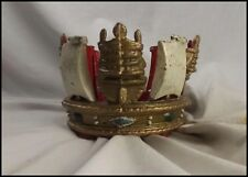 Royal Navy Jackstaff Crown