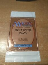 MTG Revised 3rd Edition empty booster pack wrap opened at the top