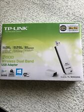 New TP-Link TL-WDN3200 N600 Dual Band Wireless 300mbps USB Adaptor - White