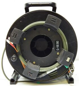 Fibra ottica 2G 50/125um bobina avvolgibile military tactical  100 metri
