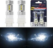 LED Light 80W 3057 White 5000K Two Bulbs Turn Signal Park Brake Tail Stop