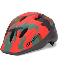 Giro Rodeo Infant Helmet Glowing Red Camo 48-52cm Awesome Little Helmet! New