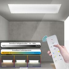 LED Deckenlampe dimmbar 120x30 Deckenleuchte Panel 2700K-6500K mit Fernbedienung