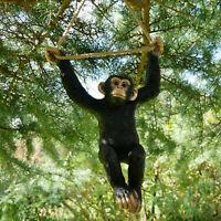 Climbing Monkey Tree Hanging Garden Tree Ornament Sculpture Statue Decoration