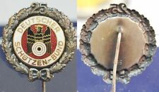 3 Reich Schützen Schützenmed. Dt. Schützenbund 25 j. Mitgliedsch., Silber 935 vz