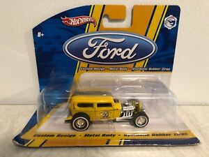 Hot Wheels 1:50 Mid-Scale Cars Ford, '32 Ford Mooneyes