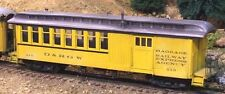 On3/On30 WISEMAN MODELS SM-102 D&RGW OPEN PLATFORM COMBINE PASSENGER CAR
