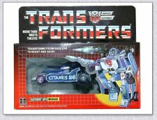 Transformers G1 Mirage reissue brand new Gift