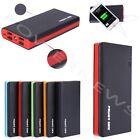 3000000mAh 4 USB External Power Bank Portable LCD LED Charger for Cell Phone US