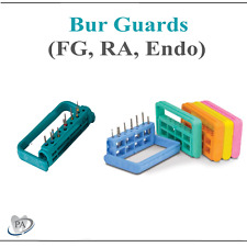 Dental 25 Hole Bur Block Sterilization Bur Guard Fits Friction Grip Burs 275f
