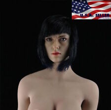 1/6 Scarlett Johansson Ghost In The Shell Head Sculpt Phicen Female Figure ❶USA❶