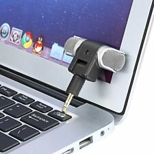 1pc New Mini Stereo Microphone Mic 3.5mm Mini Jack PC Laptop Notebook New ST