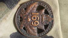 WW1 WWI CEF Cap Badge - 169th Battalion