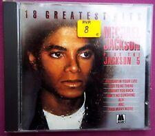 CD MICHAEL JACKSON. 18 GREATEST HITS ,1983