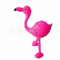 Inflatable Standing Flamingo Shaped Pool Float Ring Raft Swimming Water Fun Toy