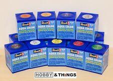 Model Paint Revell Aqua Colour (water based) Full Range! Acrylic Aqua Color