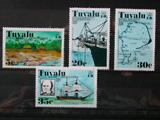TUVALU '1977 * MH 55/58 YT 6,00 EUR ROYAL SOCIETY EXPEDITIONS,MARINE,NAVIGATION