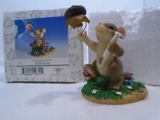 "Charming Tails Figurine ""Congraduations"" ; 89/106 Fitz and Floyd"