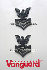 Genuine US Navy Petty Officer First Class Collar Insignia, NEW