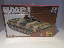 ESCI ERTL 1/35 Scale BMP 1 Soviet Combat Vehicle Sealed Box Model Kit Ships Free