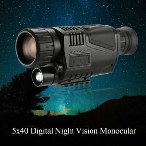 Digital Infrared Night-Vision Monocular 8X Magnification 200M Viewing Distance