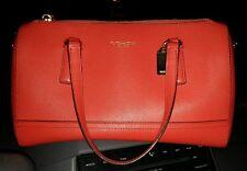 Coach Saffiano Mini Satchel Love Red leather tote handbag 49392