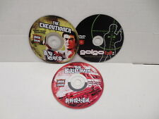 Kill Chiba Collection DVDs NO CASES Bullet Train Executioner Golgo 13 Kowloon