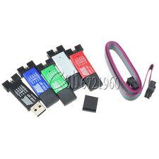 2PCS USBISP USB ISP USBASP ASP Programmer for 51 ATMEL AVR WIN7 64 Random Color