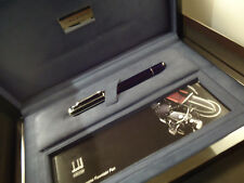 More details for dunhill limousette fountain pen - limited edition -  lacquer/925 silver -  case