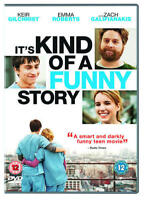 It's Kind of a Funny Story [DVD] Zach Gelidianakis Comedy UK STOCK STOCK