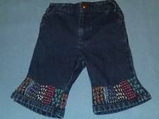 Baby Gap Cute Little Girls Embroidered Jeans, Size 3-6 Months