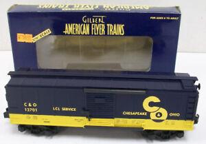 American Flyer 6-48347 S Scale Chesapeake & Ohio Boxcar MT/Box