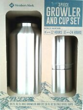 Growler and Cup Set