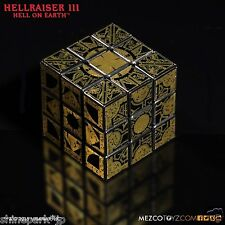 MEZCO Hellraiser 3 Le Marchand Puzzle Box Cube with Tracking NEW!!