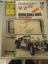 Bausatz Mercedes SSKL Mille Miglia (1928) Burago  Modell 1:18