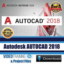 Autodesk AutoCAD 2018 Video Training Tutorial Course Instant DOWNLOAD