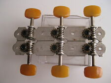 Vintage Ibanez Hondo Memphis Slotted Neck Guitar Amber Tuners Set for Project