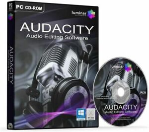 NEW Audacity 2020 (Professional Audio Music Editing-Recording Software)-Windows