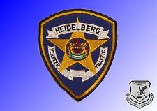Südafrika: Abzeichen Polizei Verkehrspolizei Verkeer Traffic Heidelberg
