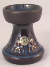 Danish Art Pottery, Soholm - Einar Johansen Blue Series Candlestick Vase